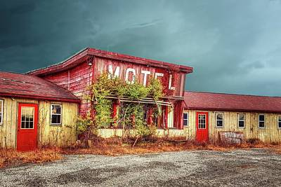 Photograph - Motel by Mary Timman