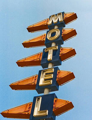 Motel Art Print by Matthew Bamberg