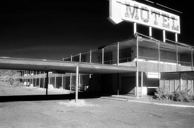 Bruce Wayne Photograph - Motel Nowhere by Bruce Wayne