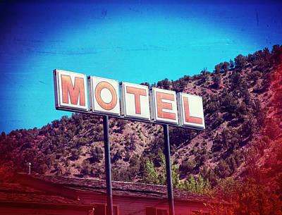 Digital Art - Motel by Susan Stone