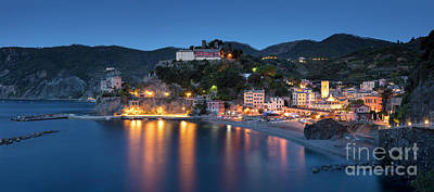 Photograph - Monterosso Al Mare Twilight by Brian Jannsen