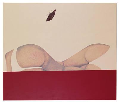 Atkinsky Painting - Moth by Judith Sturm