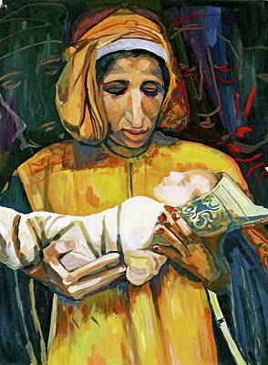Painting - Mother And A Child by Yelena Tylkina