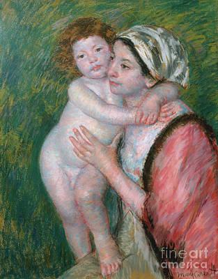 Pastel - Mother And Child, 1914 by Mary Stevenson Cassatt
