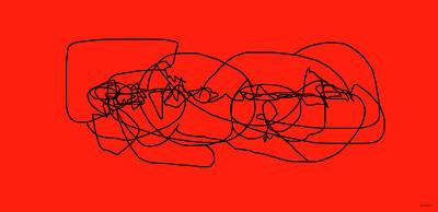 Digital Art - Mother And Child 77 by Sir Josef - Social Critic -  Maha Art