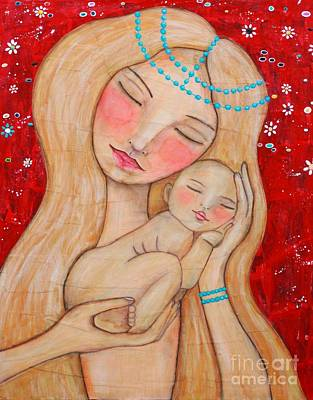 Painting - Mother And Child by Natalie Briney