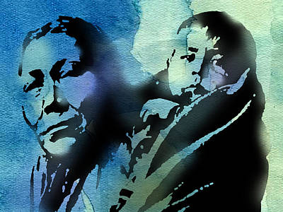 American Indian Children Painting - Mother And Child by Paul Sachtleben