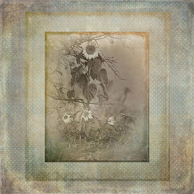 Mother And Child Reunion Vintage Frame Art Print