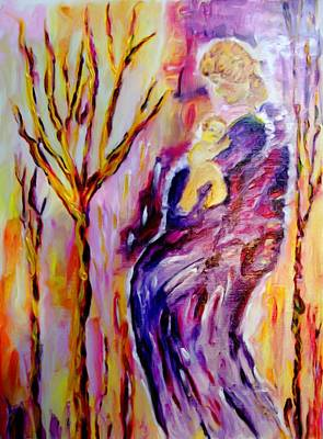 Painting - Mother And Child by Shelley Bain