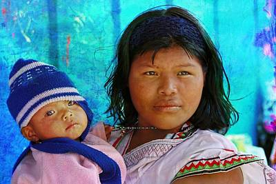 Photograph - Kuna Yala - Mother And Child by Tatiana Travelways