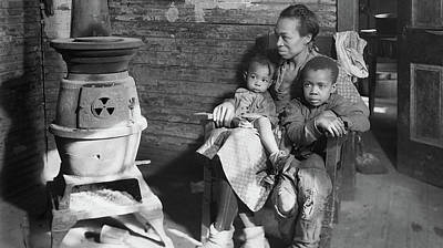 Photograph - Mother And Children During The Great Depression - West Virginia 1937 by U S N A