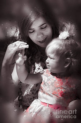 Caring Mother Photograph - Mother And Daughter Hand In Hand by Jorgo Photography - Wall Art Gallery