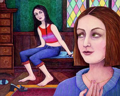 Deadlock Painting - Impasse by Melinda Gay