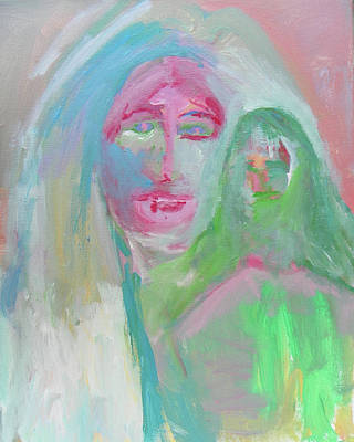 Painting - Mother And Son by Judith Redman