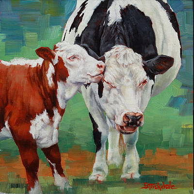 Painting - Mother And Son by Margaret Stockdale