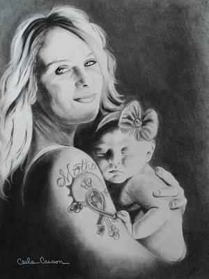 Drawing - Mother by Carla Carson