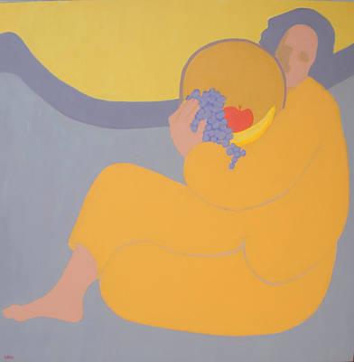 Nurturer Painting - Mother Earth by Renee Kahn