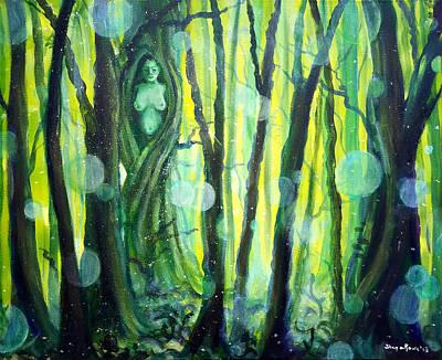 Painting - Mother Elder Tree by Shana Rowe Jackson