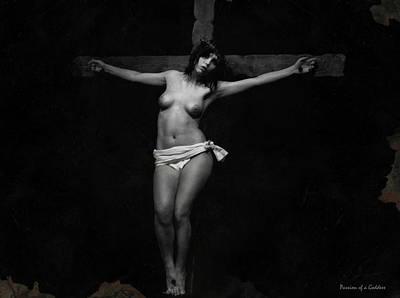 Jesus Crucifixion Photograph - Mother Forgive Them by Ramon Martinez