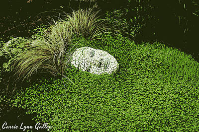 Gaia Digital Art - Mother Gaia by Carrie Gallop