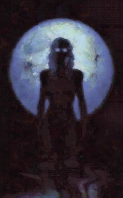 Goddess Mythology Painting - Mother Goddess by Sarah Kirk