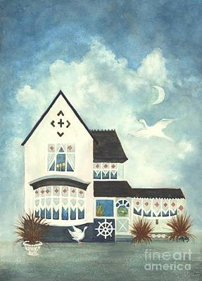 Painting - Mother Goose House  by Janine Riley