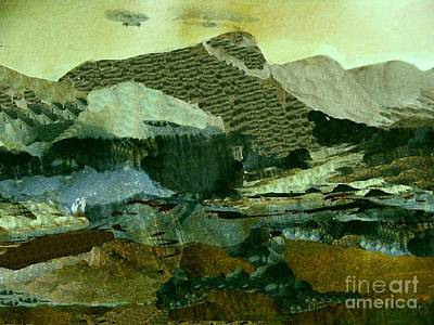 Digital Art - Mother Hen Mountain 2 by Nancy Kane Chapman