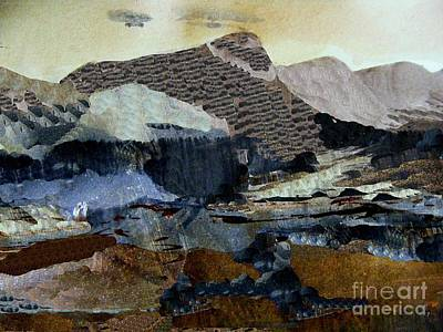 Digital Art - Mother Hen Mountain by Nancy Kane Chapman
