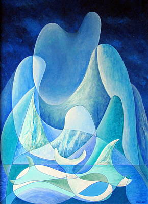Painting - Mother Iceberg by Douglas Pike