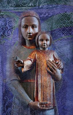 Mother Mary Digital Art - Mother by I'ina Van Lawick