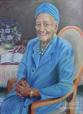 Painting - Mother Kanatu by Samuel Daffa