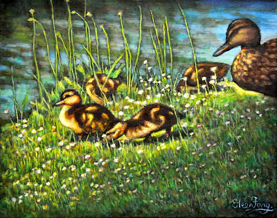 Painting - Mother Love by Eileen  Fong