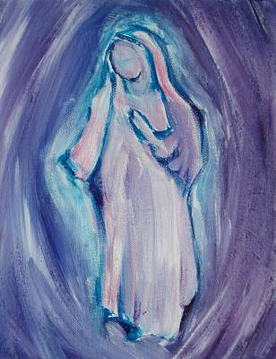 Painting - Mother Mary Essence by Tara Moorman