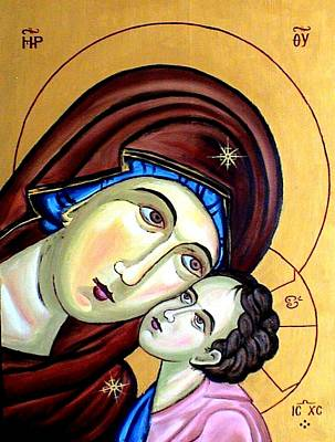 Mother Mary Art Print by Murali