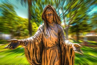 Mission San Luis Rey Photograph - Mother Mary by Spencer McDonald