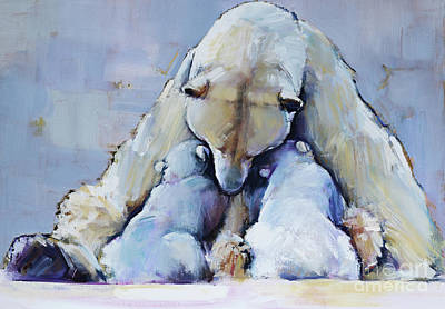 Motherhood Wall Art - Painting - Mother Mountain by Mark Adlington
