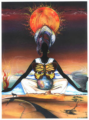 Mother Nature II Art Print by Anthony Burks Sr