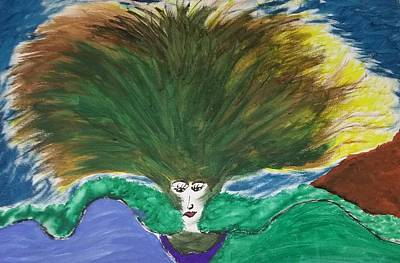 Painting - Mother Nature's Wrath by Shelundra Santiago