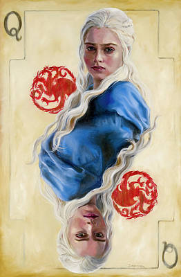Painting - Mother Of Dragons by Denise H Cooperman