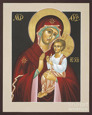 Painting - Mother Of God Light In All Darkness 016 by William Hart McNichols
