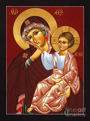 Painting - Mother Of God Of Vatopedi 015 by William Hart McNichols
