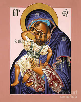 Painting - Mother Of God Rejoicing 055 by William Hart McNichols