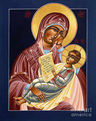 Painting - Mother Of God Soothe My Sorrows 105 by William Hart McNichols
