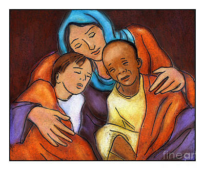 Painting - Mother Of Mercy - Jlmme by Julie Lonneman
