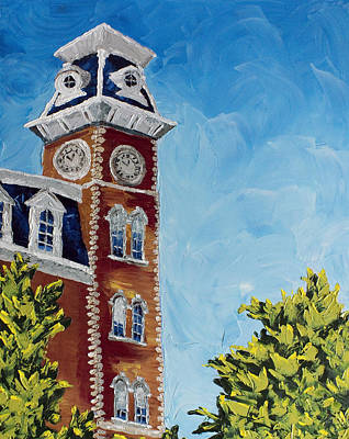 University Of Arkansas Painting - Mother Of Mothers by Beth Lenderman