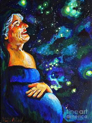 Painting - Mother Of Nations by Veronica McDonald