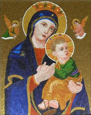 Mother Of Perpetual Help Print by Liza Wheeler