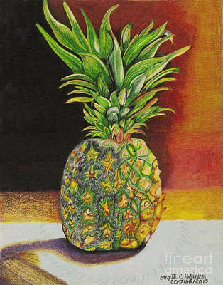 Painting - Succulent by Brigitte C Robinson