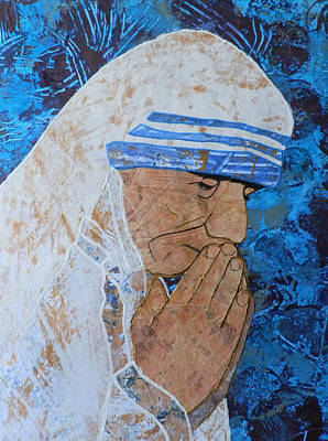Carol Cole Painting - Mother Teresa Of Calcutta by Carol Cole