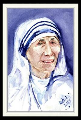 Catholic For Sale Painting - Mother Teresa by Patricia Ducher